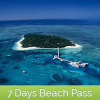 7 Day Green Island Beach Pass