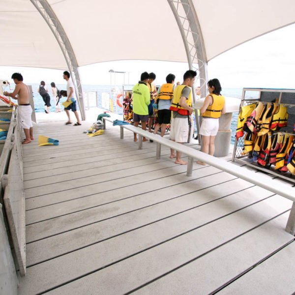 Great Adventures Reef activity platform